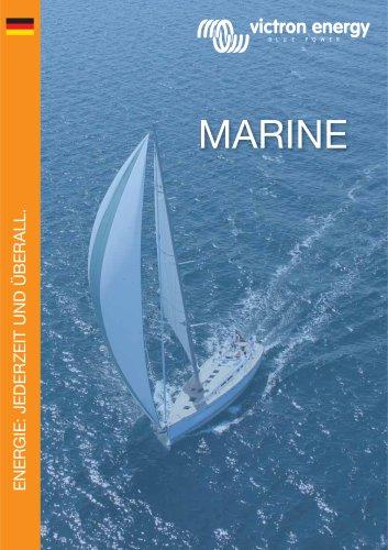 Brochure marine