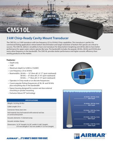 CM510L Cavity Mount