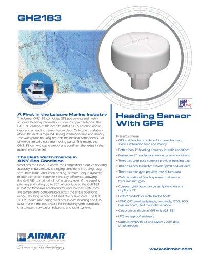 GH2183 Heading/GPS