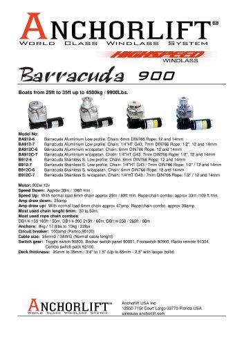 BARRACUDA 900