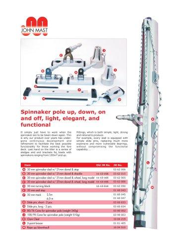 30mm spinnaker track system