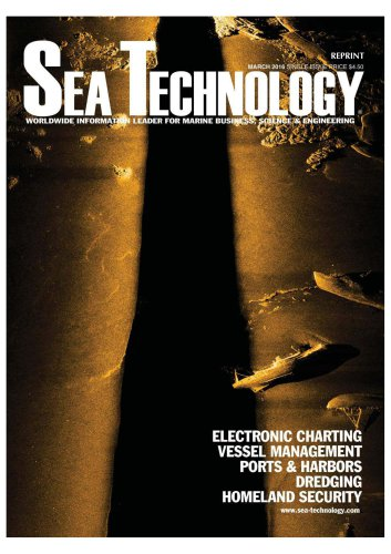 SEA TECHNOLOGY MARCH 2016