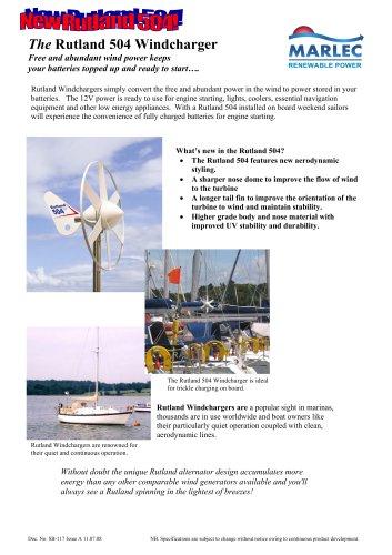The Rutland 504 Windcharger