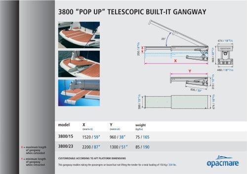 passerelle serie 3800 pop up pantograph