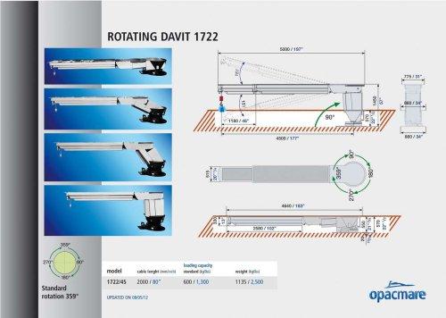 Rotating Davit 1722