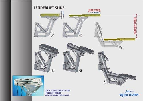 tender lift slide model 3330.50