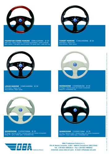 Steering Wheels Morbidone