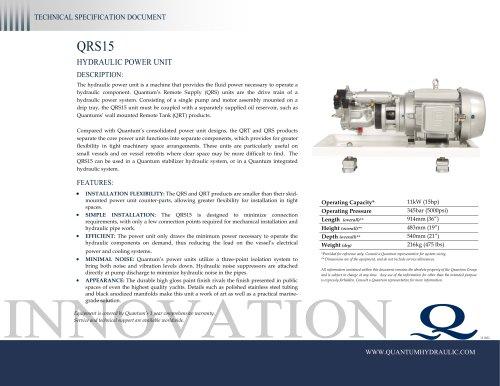 Quantum HPU QRS15