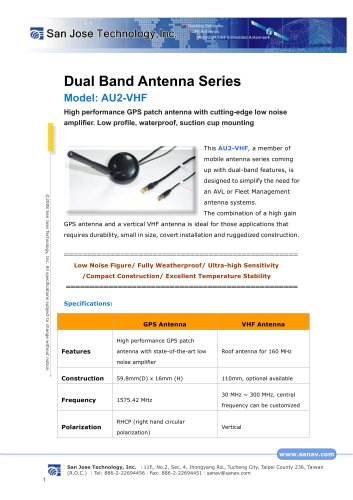AU2-VHF_Catalog