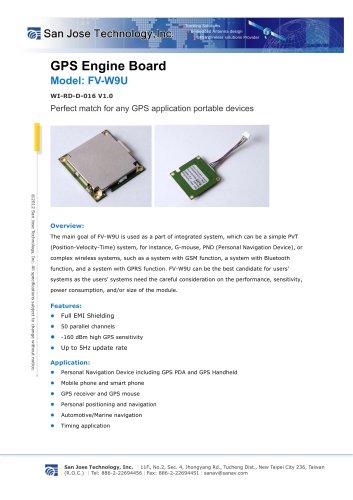 GPS Engine Board (GPS Module)
