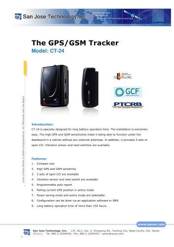 GPS/GSM Personal/Asset Tracker