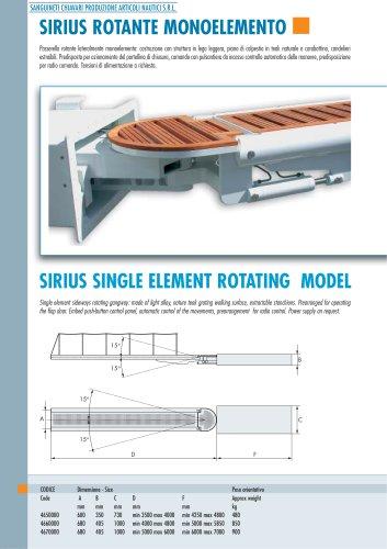 SIRIUS single element rotating