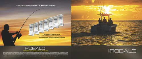 2015 Robalo Brochure