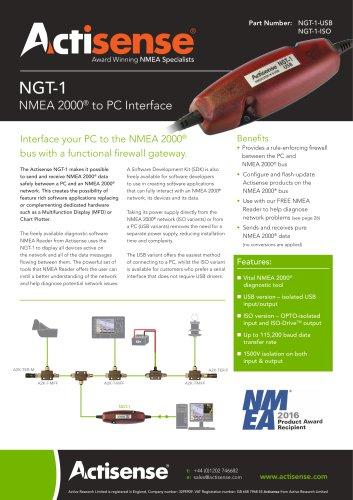 NGT-1 Datasheet