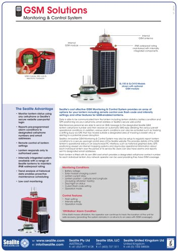 GSM Cell-Phone Monitor & Control System