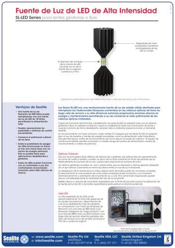 High Output LED Light Source Series