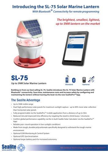 Introducing the SL-75 Solar Marine Lantern