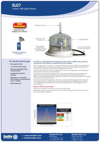 SL07 1-5nm+ LED Light Fixture