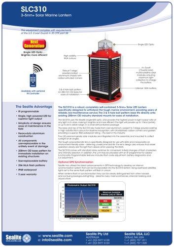 SLC310 3-5nm+ Solar Marine Lantern