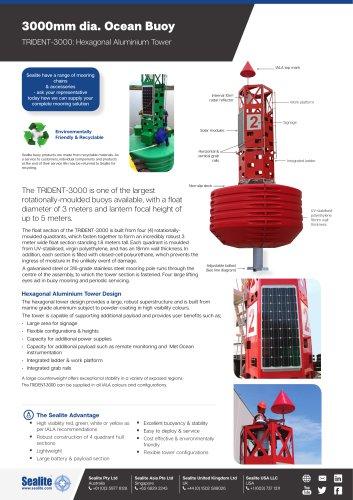 TRIDENT-3000: Hexagonal Aluminium Tower