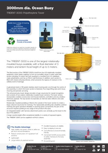 TRIDENT-3000: Polyetheylene Tower