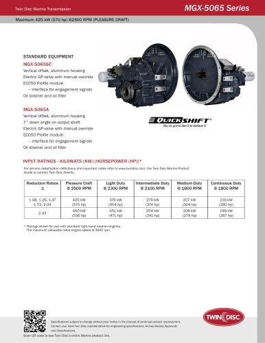 MGX-5065SC