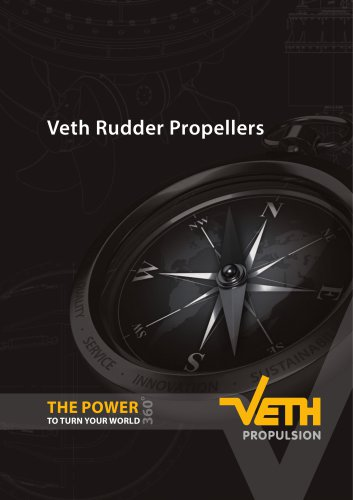 Veth Rudder Propellers Brochure