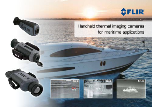 Catalogue Caméras Thermiques Portable FLIR