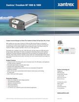 Xantrex TM  Freedom HF 1000 & 1800