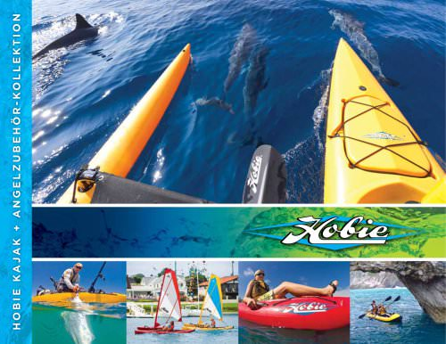 2013/14 hobie kayaking fishing collection brochure