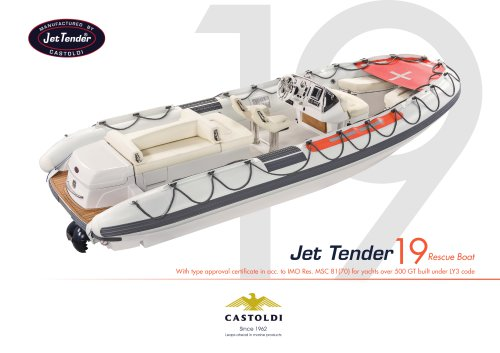 Jet Tender 19 RB - SOLAS