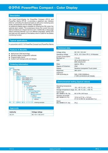 PowerPlex® Touch Panel 4.3?