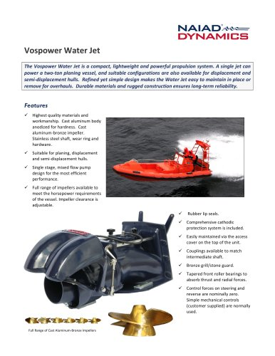 Vospower Water Jet