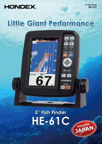 HE-61C 5inch Fish Finder