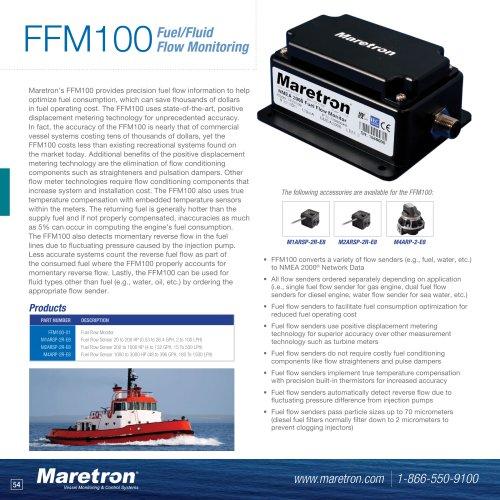 FFM100 fuel flow monitor