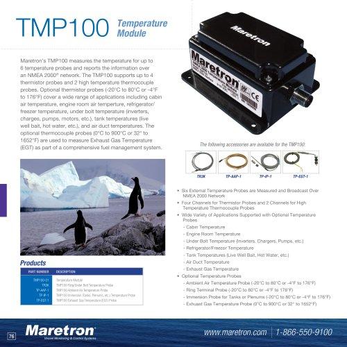 TMP100 temperature monitor