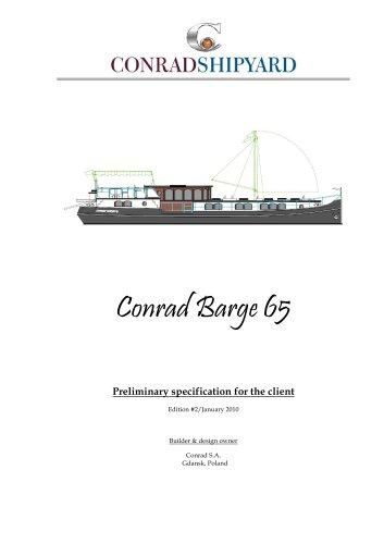 Conrad Barge 65