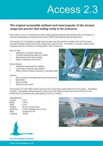 International Access 2.3 Single Seater