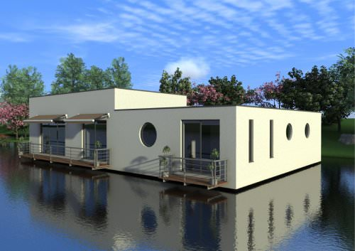 floating house HIBISCUS