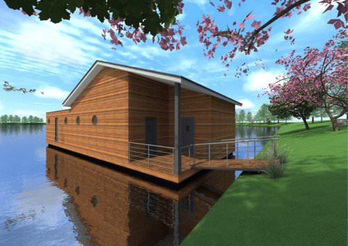 floating house JONQUILLE