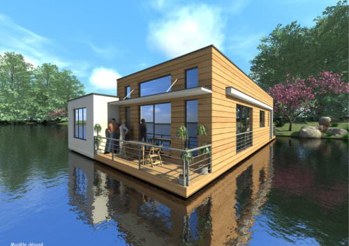 floating house NYMPHEA