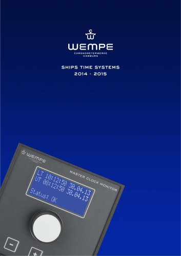WEMPE Time Systems 2014-2015