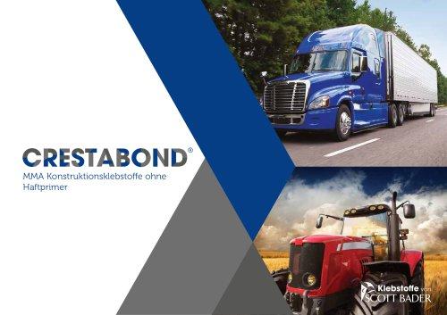 Crestabond® - MMA Konstruktionsklebstoffe ohne Haftprimer