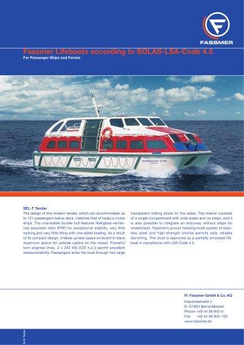 Fassmer Lifeboats / Tender