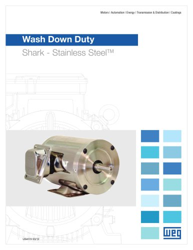 Wash Down Duty - Shark Stainless Steel Motor