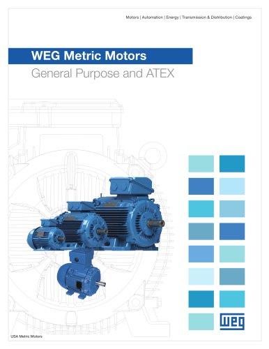 WEG Metric Motors - General Purpose and ATEX