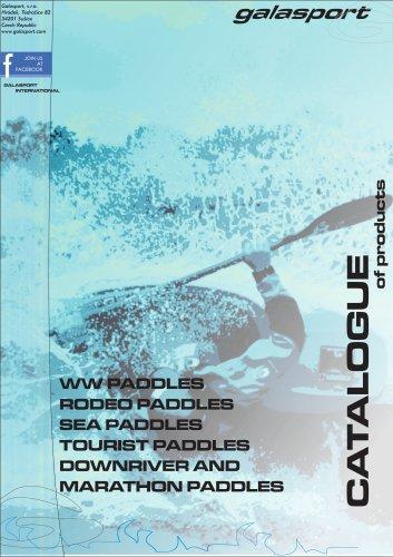 Paddles catalogue