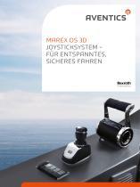Marex OS 3D Joysticksystem - Für entspanntes, sicheres Fahren