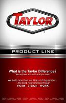 Taylor Product Line
