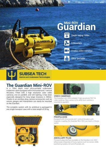 Guardian 3.0 Mini-ROV